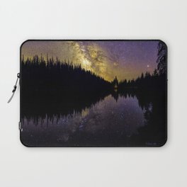Campfire Under the Stars by OLena Art Laptop Sleeve