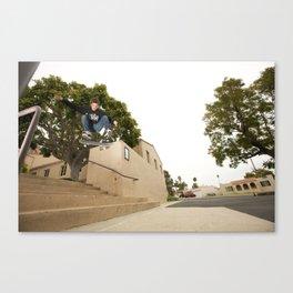 Kevin Offerman. Kickflip Canvas Print