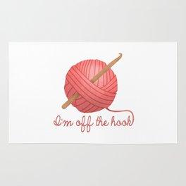 I'm Off The Hook Rug