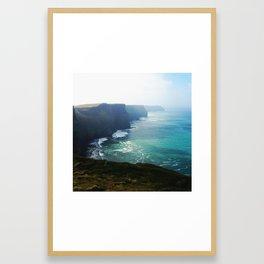 The Cliffs of Moher 2 Framed Art Print