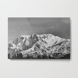 Mountain Glacier Two Metal Print