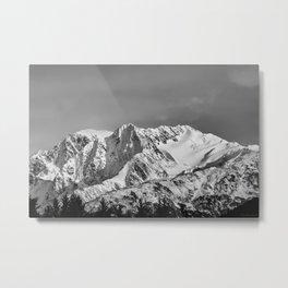Mountain Glacier Two Metal Print