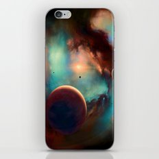 Planets unknown road trip iPhone & iPod Skin