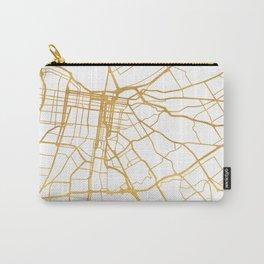 LOUISVILLE KENTUCKY CITY STREET MAP ART Carry-All Pouch