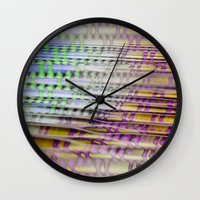 breathe Wall Clocks featuring Breathe by mimulux