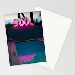 NEON POOL Stationery Cards