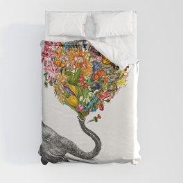 Happy Elephant  Duvet Cover