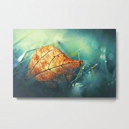 Autumn Gift Metal Print