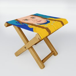 Greta Thunberg Folding Stool