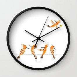 Hi hoopoe! Wall Clock