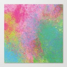 Crayon Corner Canvas Print