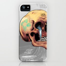 Zia Skull iPhone Case