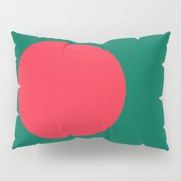 Flag of Bangladesh, Authentic color & scale Pillow Sham