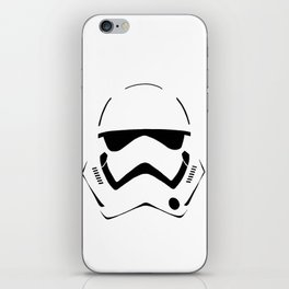 NEW STORMTROOPER HELMET iPhone Skin