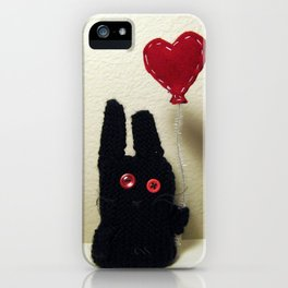Bun Balloon iPhone Case