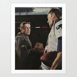Bill and Tom Art Print