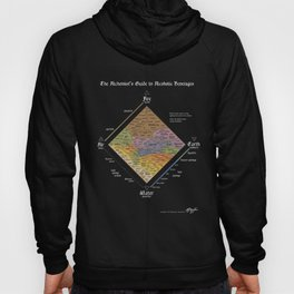 The Alchemist's Guide to Alcoholic Beverages (for dark shirts) Hoody