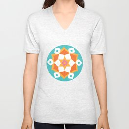 Rangoli of Love Unisex V-Neck