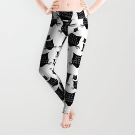 Cats First America Second Leggings