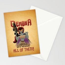 Demona Propganda Stationery Cards