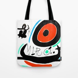 Joan Miro, Joan Miró i Catalunya, 1968 Artwork for Wall Art, Prints, Posters, Tshirts, Men, Women, Youth Tote Bag