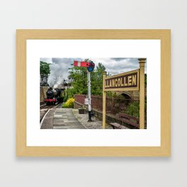 Llangollen Railway Station Framed Art Print