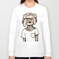 childish gambino Long Sleeve T-shirts featuring Childish Bearbino by serendipandas