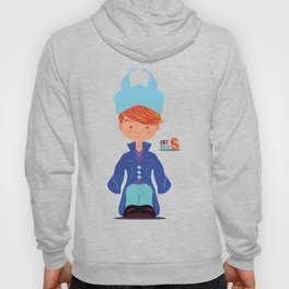Le petit Mikel /Character & Art Toy design for fun Hoody