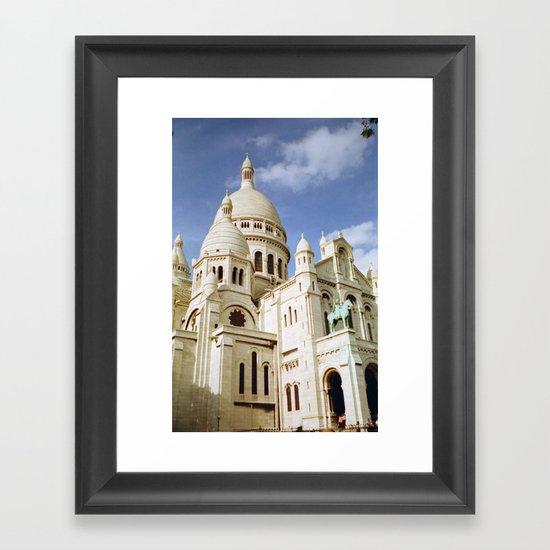 Sacre Coeur, Paris  Framed Art Print