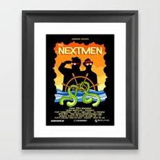 The Nextmen Set Sail For Penzance! Framed Art Print