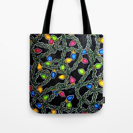 Twinkle Lights Tote Bag