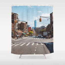 Downtown New York Shower Curtain