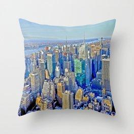 Amazing New York Throw Pillow