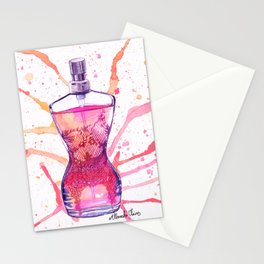 JPG Classique Perfume bottle Stationery Cards