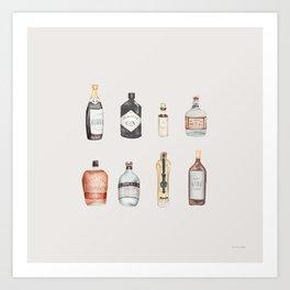 The Bar Art Print