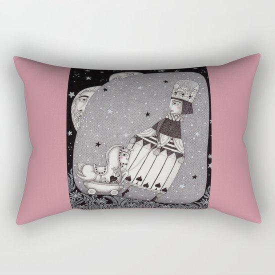 Snow Princess Rectangular Pillow