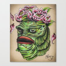 Queen of the Swamp Canvas Print