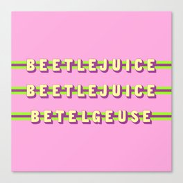 Betelgeuse (Rule of Threes) Canvas Print
