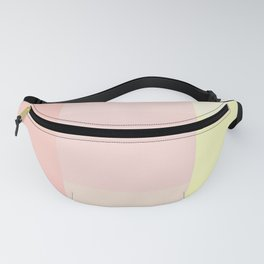 pink and yellow Fanny Pack