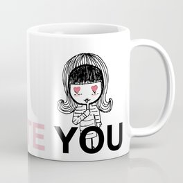 I Hate You / Mask Coffee Mug