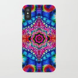 Tie-Dye Psychedelic iPhone Case