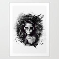 Electro Dreamer Art Print