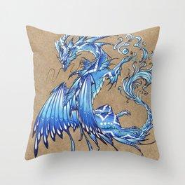 Water dragon Deko-Kissen