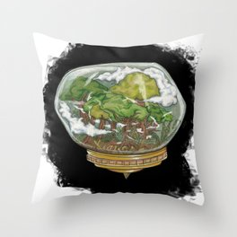 A Forrest out There Throw Pillow