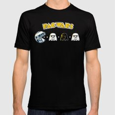 Pac Wars Mens Fitted Tee Black 2X-LARGE