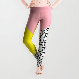 Memphis pattern 28 Leggings