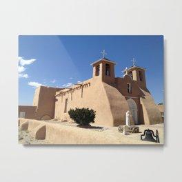 Taos New Mexico- Church  Metal Print