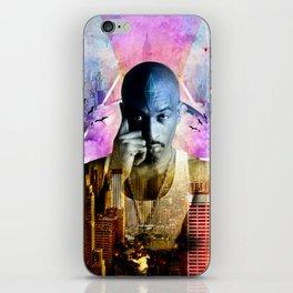 Rakim TheGod MC iPhone Skin