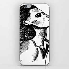 That neck iPhone Skin