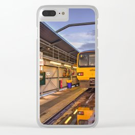 Shed Reflections Clear iPhone Case